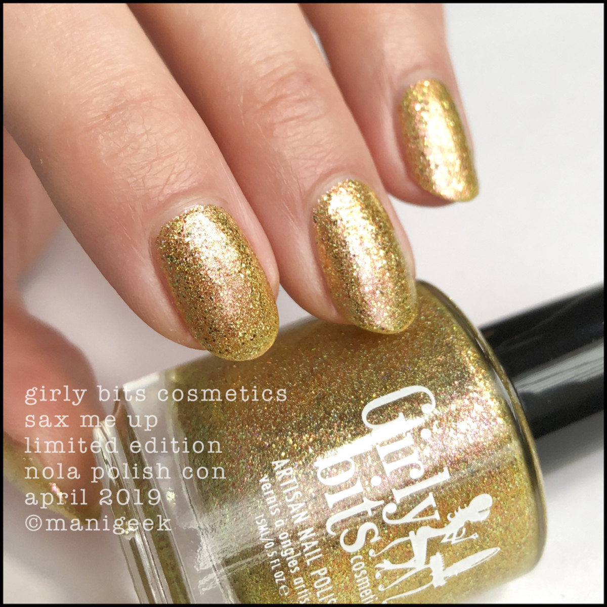 Girly Bits Sax Me Up - LE Girly Bits Polish Con NOLA April 2019