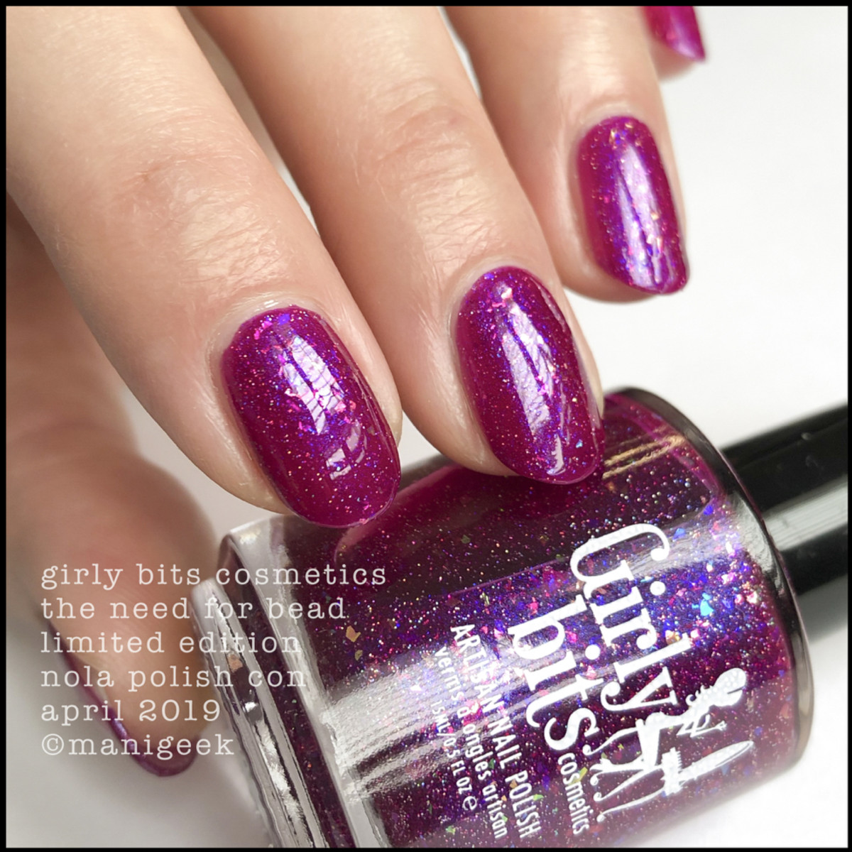 Girly Bits The Need for Bead - LE Girly Bits Polish Con NOLA April 2019