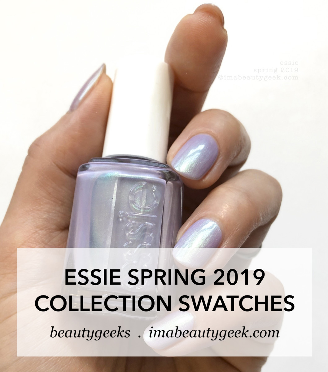 Essie Spring 2019 Collection Swatches Review Tiers of Joy