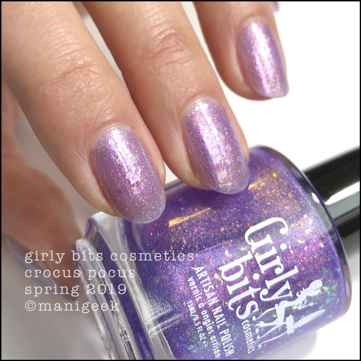Girly Bits Crocus Pocus - Girly Bits Cosmetics Spring 2019 Collection