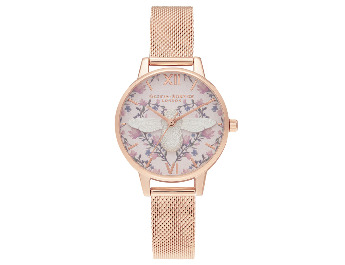 Olivia Burton London Meant to Bee 3D Bee watch (OB16AM166)