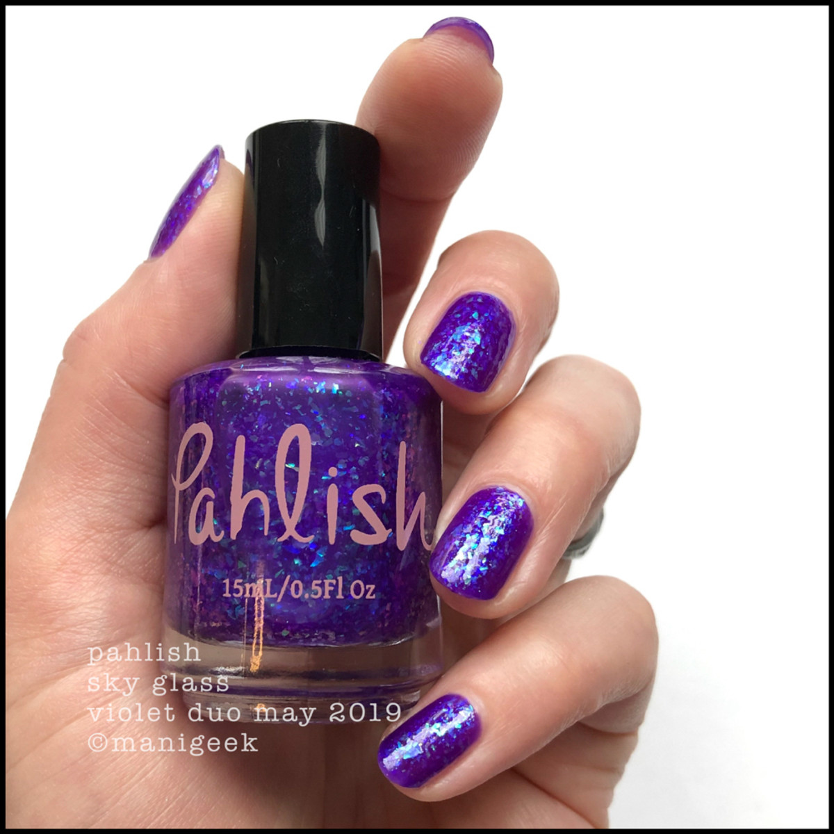 Pahlish Sky Glass - Pahlish Violet Duo May 2019