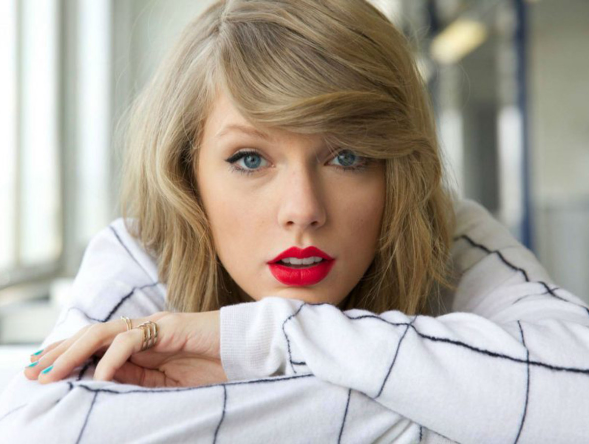 how to create perfect lips with lipstick_Taylor Swift