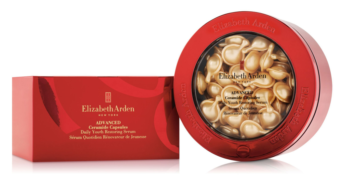 Elizabeth Arden Advanced Ceramide Capsules in limited-edition Lunar New Year packaging + bonus
