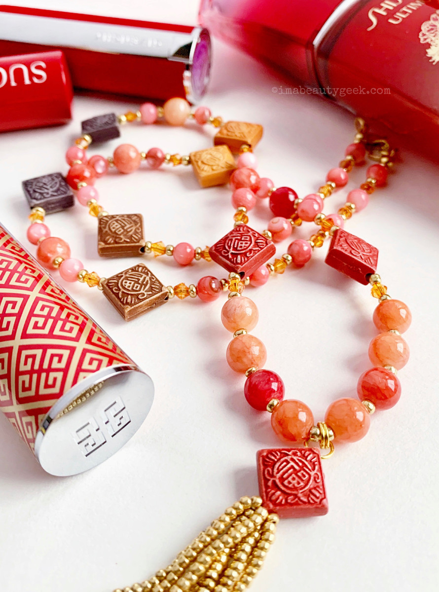 Lunar New Year 2020 beauty and mum's beaded necklace