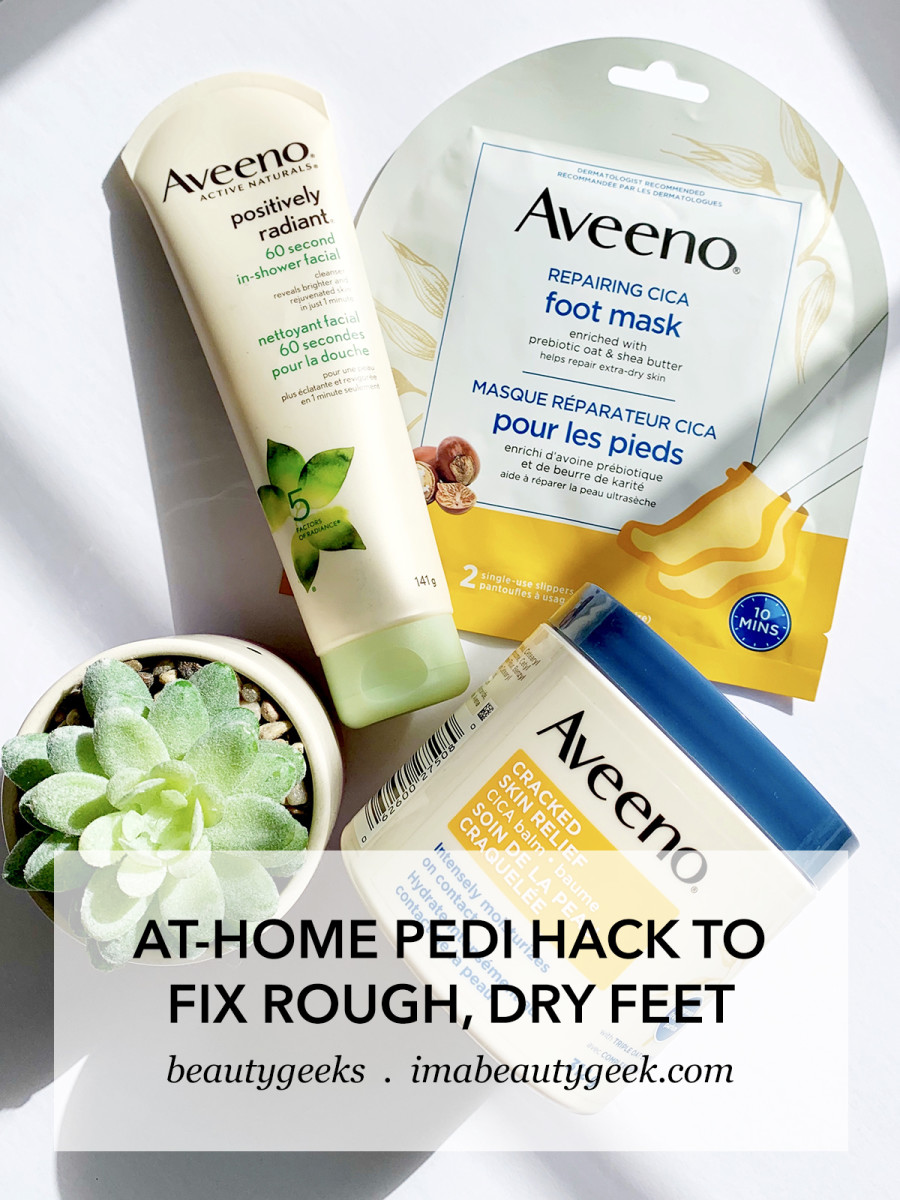 how to fix rough dry feet at home