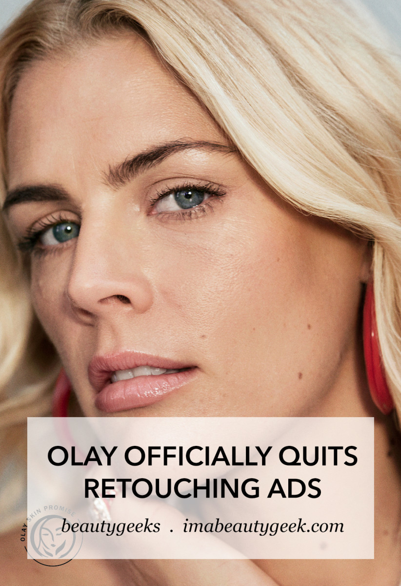 Olay officially stops retouching skin in ads