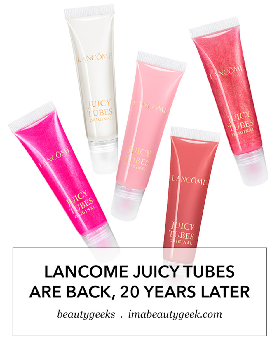 Lancome Juicy Tubes are back 2020